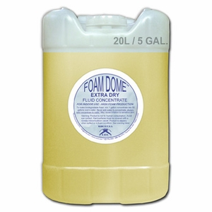 Foam Dome Fluid Concentrate Extra Dry - 5 Gallon Container