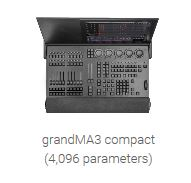 grandMA3 Compact - 4,096 Parameter Lighting Console