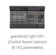 grandMA3 Light CRV - 8,192 Parameter Lighting Console
