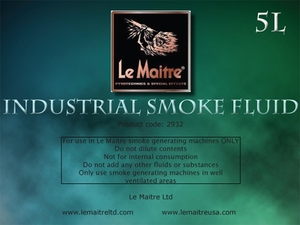 Industrial Smoke Fluid - 4L Bottle
