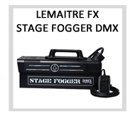 LeMaitre Stage Fogger DMX Fog Machine - Rental