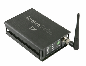 LumenRadio IN-DTX1 - CRMX Nova Single Universe DMX Transmitter (Indoor)