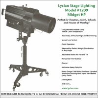 Midget HP 575 Spotlight - Model 1209