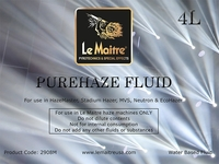 LeMaitre Pure Haze Fluid - Case of Four 4L Bottles