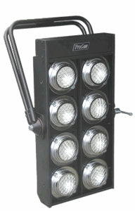 ProCan 8-Lite Par 36 Audience Blinder - Unwired