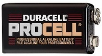Procell 9 Volt Batteries - Case of 72