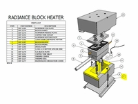 Radiance Hazer Block Holder - #CXP-1187