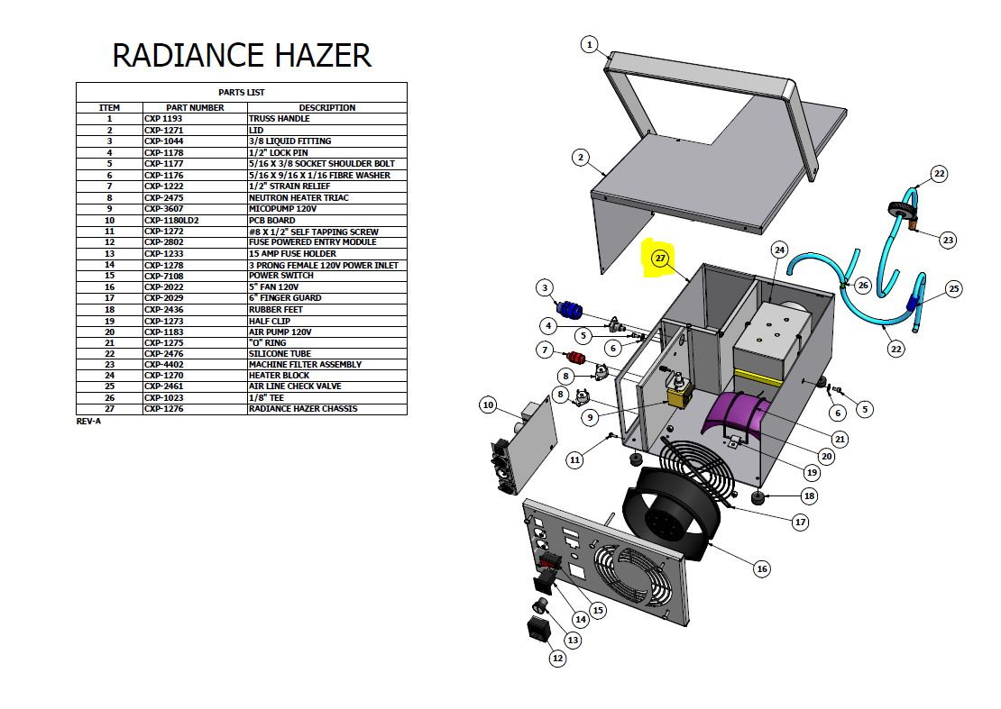 radiance hazer wiring diagram   29 wiring diagram images