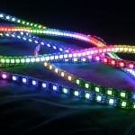 "RGB LED Pixel Tape - 1.18 Metre / 3'10"" - 6.9mm Pitch"