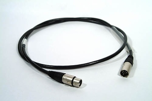 3-PIN DMX CABLES AND CONNECTORS