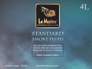Standard Smoke Fluid - 4L Bottle