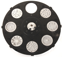 STATIC GOBO WHEEL FOR DESIGN SPOT 250P