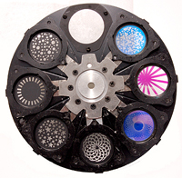 STATIC GOBO WHEEL FOR DESIGN SPOT 300E