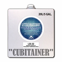 Super Extra Dry Little Blizzard Snow Fluid - 5 Gallon Cubitainer