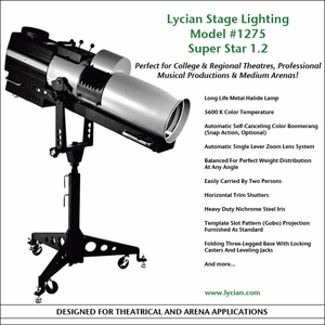 Super Star 1.2 Spotlight - Model 1275