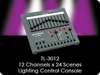 TL-3012 12 Channel x 24 Scene Lighting Control Console