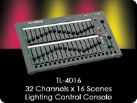TL-4016 32 Channel x 16 Scene Lighting Control Console