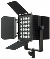 TVL 3000 - 24 x 3w DMX High Power Modular TV Light Panel