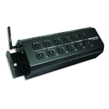 ULD-360, W-DMX, 15A, High Power, Stage Pin, 6 Channel Dimmer Pack