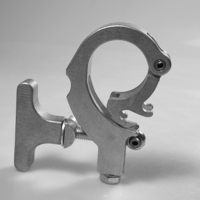Versi-Clamp, Aluminum Finish