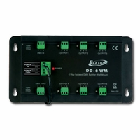 Wall Mount 6-Way DMX Splitter