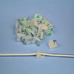Wire Screw Clips (Bag of 30)