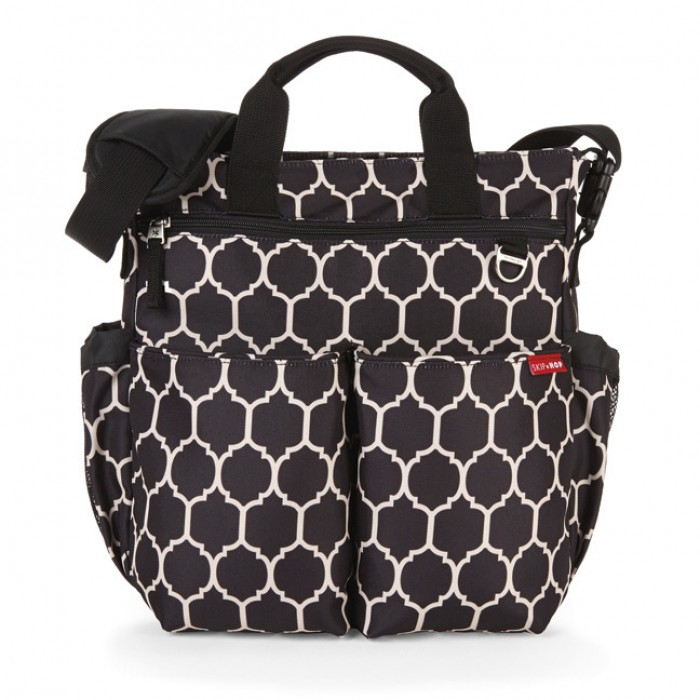 skip hop duo signature diaper bag free shipping. Black Bedroom Furniture Sets. Home Design Ideas