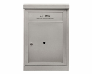 1 ADA Parcel Locker - Front Loading 4C Horizontal Mailbox - USPS Approved