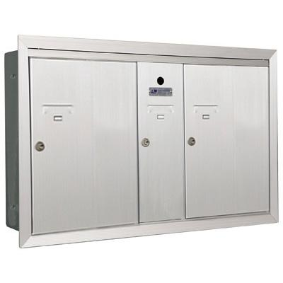 Vertical Mailbox 1 Compartment 2 Double Auth Florence