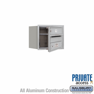 Salsbury 3703S-01AFP 4C Mailboxes 1 Tenant Doors Front Loading