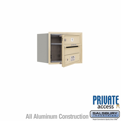 Salsbury 3703S-01SFP 4C Mailboxes 1 Tenant Doors Front Loading