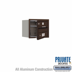 Salsbury 3703S-01ZFP 4C Mailboxes 1 Tenant Doors Front Loading