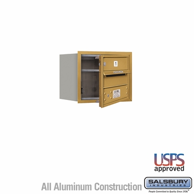 Salsbury 3703S-01GFU 4C Mailboxes 1 Tenant Doors Front Loading