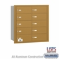 Salsbury 3610GRU 4B Mailboxes 10 Tenant Doors Rear Loading - USPS Access