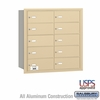 Salsbury 3610SRU 4B Mailboxes 10 Tenant Doors Rear Loading - USPS Access