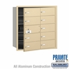 Salsbury 3610SFP 4B Mailboxes 9 Tenant Doors Front Loading - Private Access