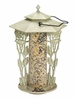 "Whitehall 12"" Chickadee Silhouette Feeder - French Bronze"