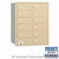 Salsbury 3612SRP 4B Mailboxes 12 Tenant Doors Rear Loading - Private Access