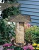 "Whitehall 12"" Pinecone Tube Feeder - French Bronze"
