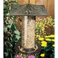 "Whitehall 12"" Trumpet Vine Tube Feeder - Oil Rub Bronze"