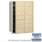 Salsbury 3614SFP 4B Mailboxes 13 Tenant Doors Front Loading - Private Access