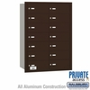 Salsbury 3614ZRP 4B Mailboxes 14 Tenant Doors Rear Loading - Private Access