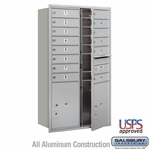 4C Mailboxes Front Loading 13 Door High Unit