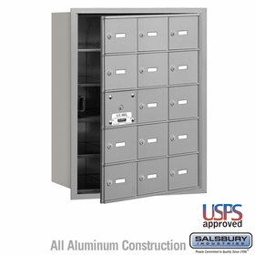 4B Mailboxes - 14 Tenant Doors - Front Loading