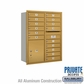 Salsbury 3711D-15GRP 4C Mailboxes 15 Tenant Doors Rear Loading