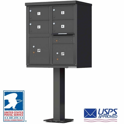 Cbu Mailbox With 4 Large Tenant Doors Bronze Auth Florence