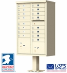 16 Door CBU Mailboxes