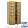 Salsbury 3715D-16GFP 4C Mailboxes 16 Tenant Doors Front Loading