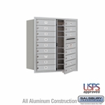4C Mailboxes Front Loading 9 Door High Unit