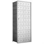 10 Doors High x 5 Doors (49 Tenants) 1600 Series Front-Load Private Distribution Cluster Mailbox
